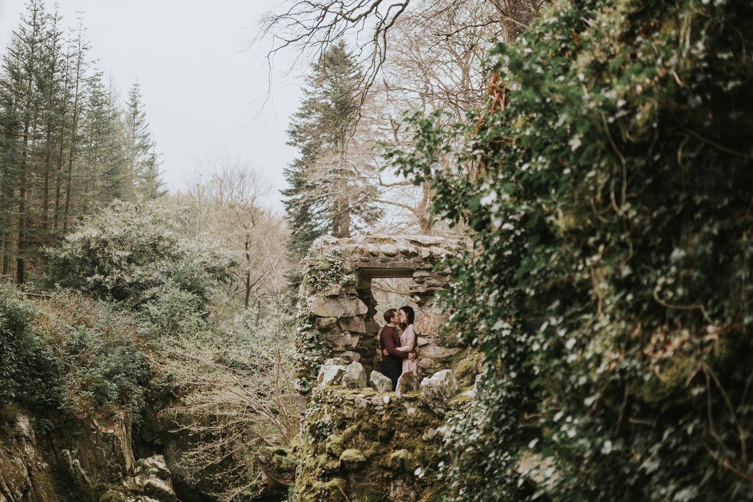Tollymore Forest Park Engagement photos 08