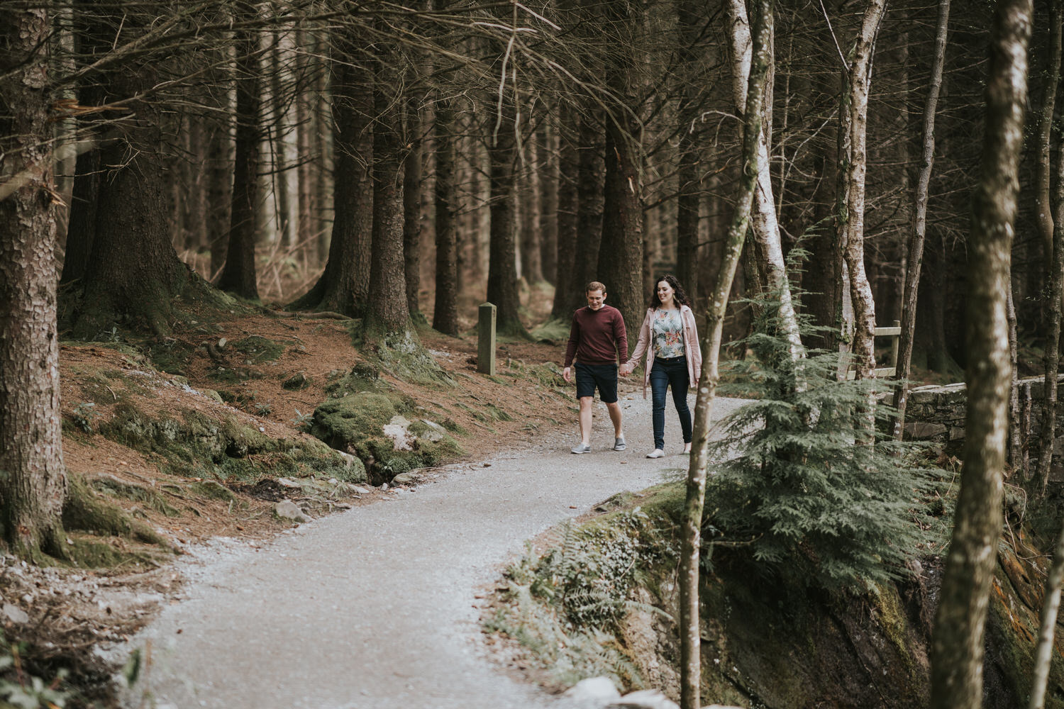 Tollymore Forest Park Engagement photos 16