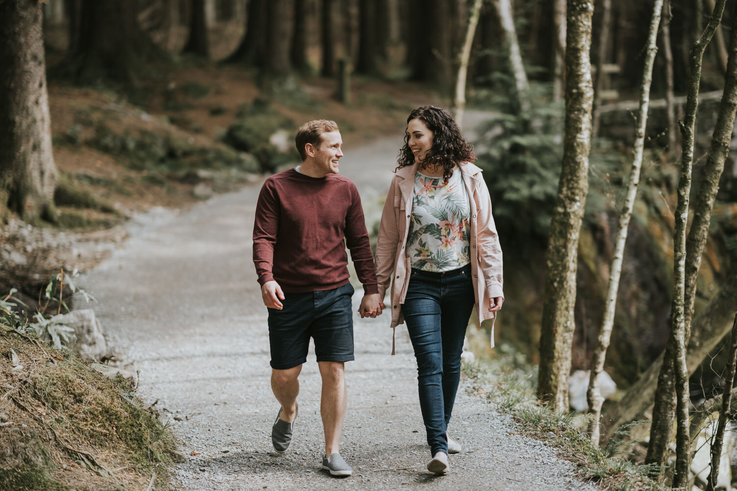 Tollymore Forest Park Engagement photos 17