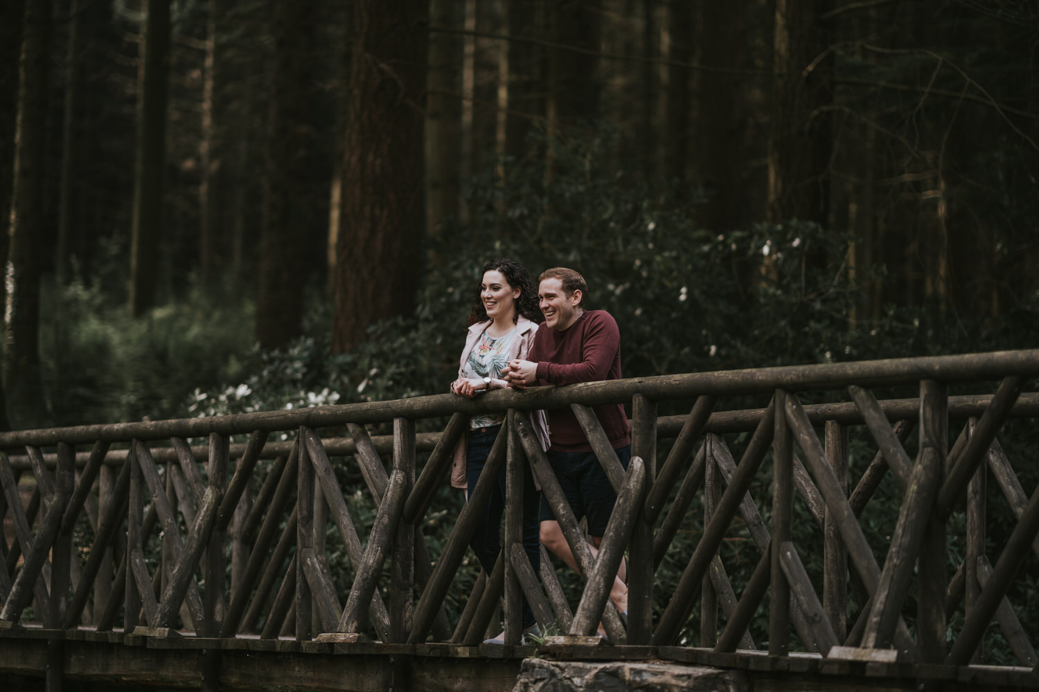 Tollymore Forest Park Engagement photos 18