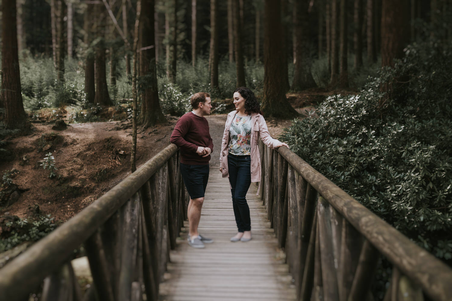 Tollymore Forest Park Engagement photos 19