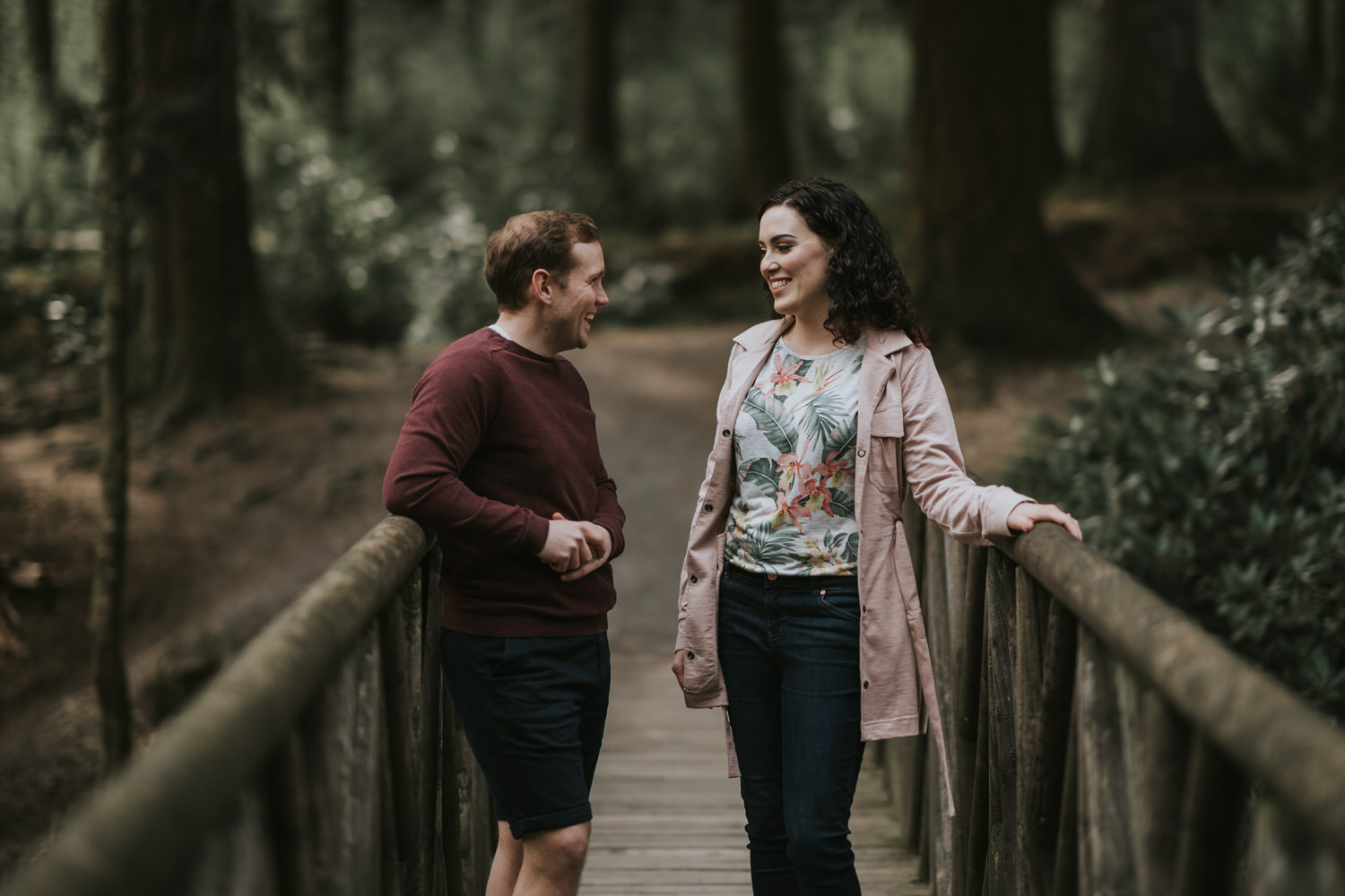Tollymore Forest Park Engagement photos 20