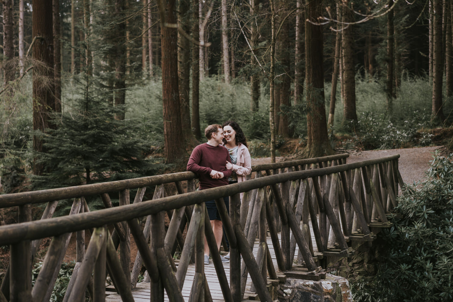 Tollymore Forest Park Engagement photos 21