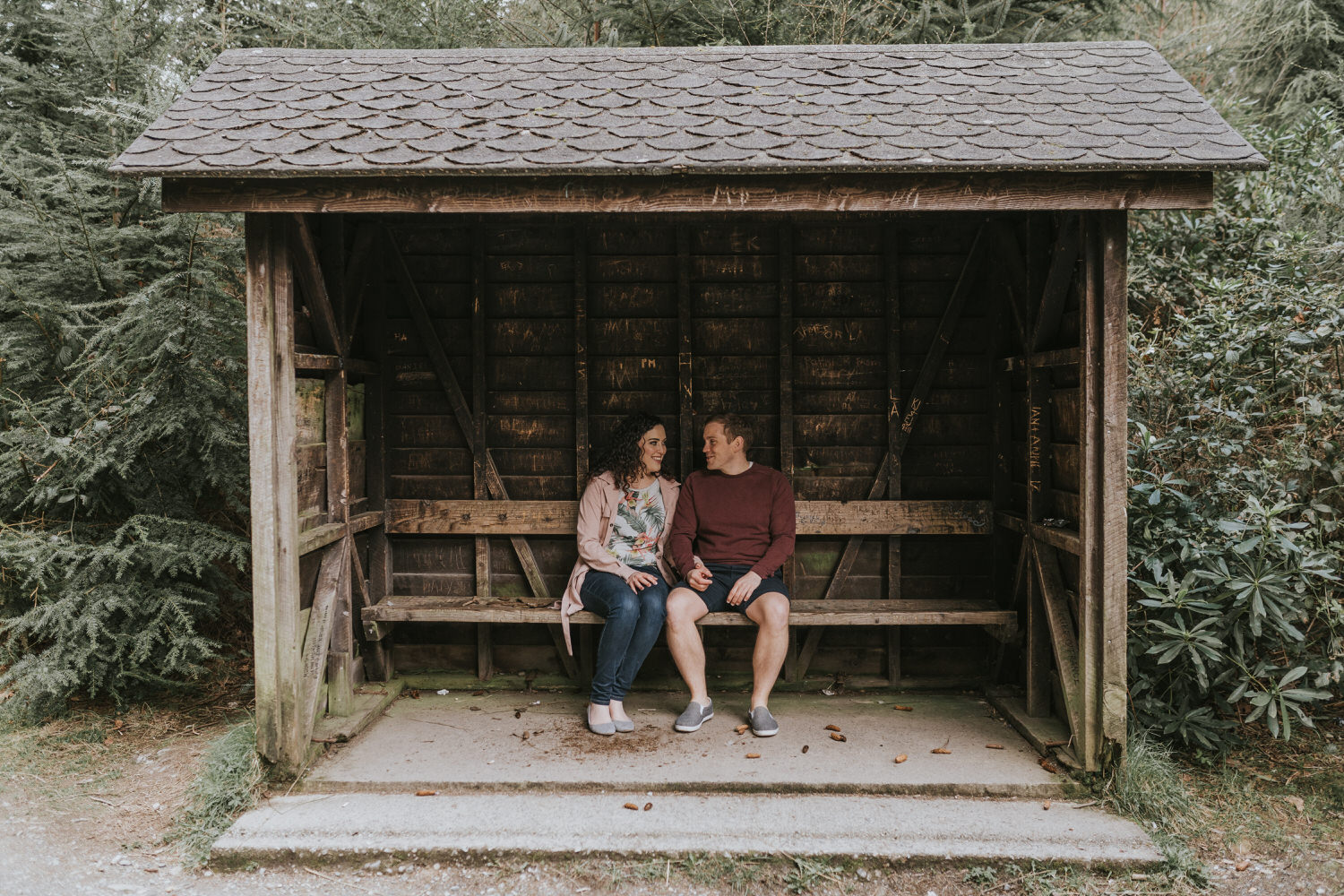 Tollymore Forest Park Engagement photos 22