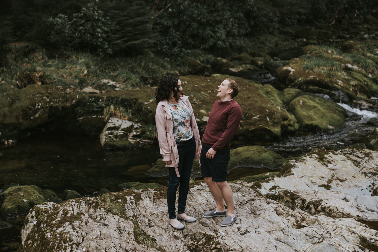 Tollymore Forest Park Engagement photos 23