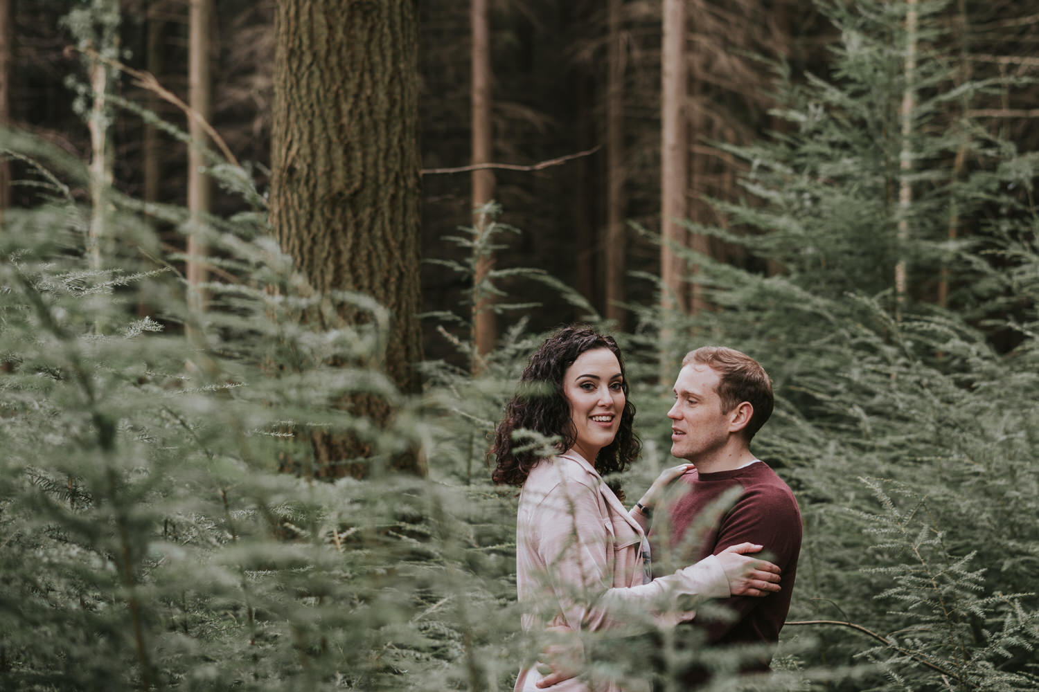 Tollymore Forest Park Engagement photos 30