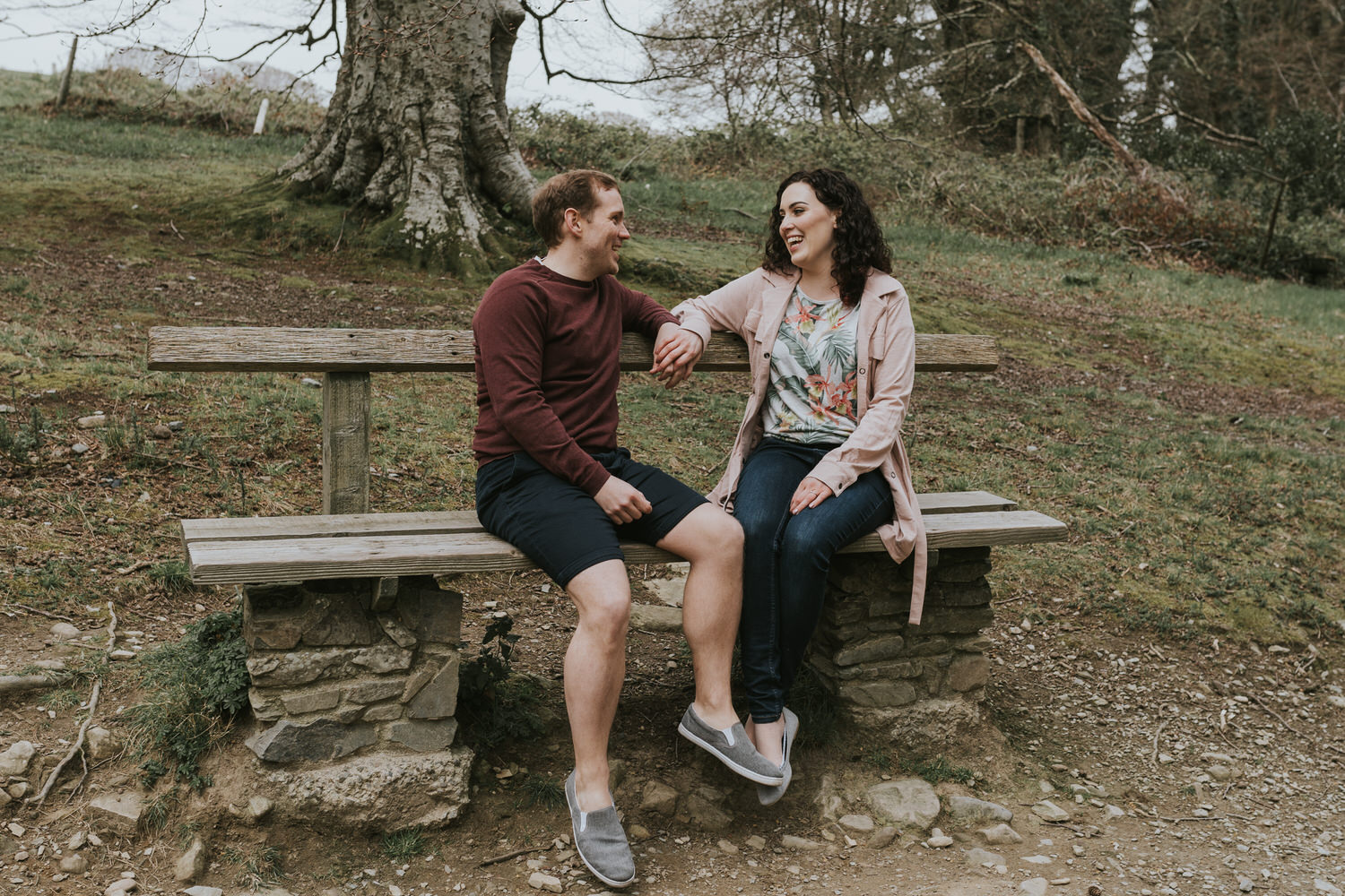 Tollymore Forest Park Engagement photos 34