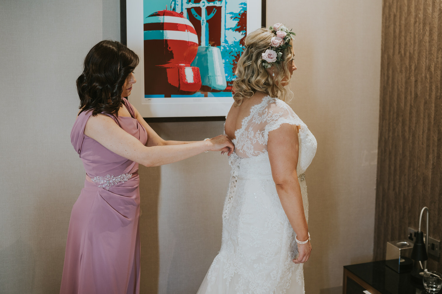 Wedding photos at Ten Square Hotel Belfast 28