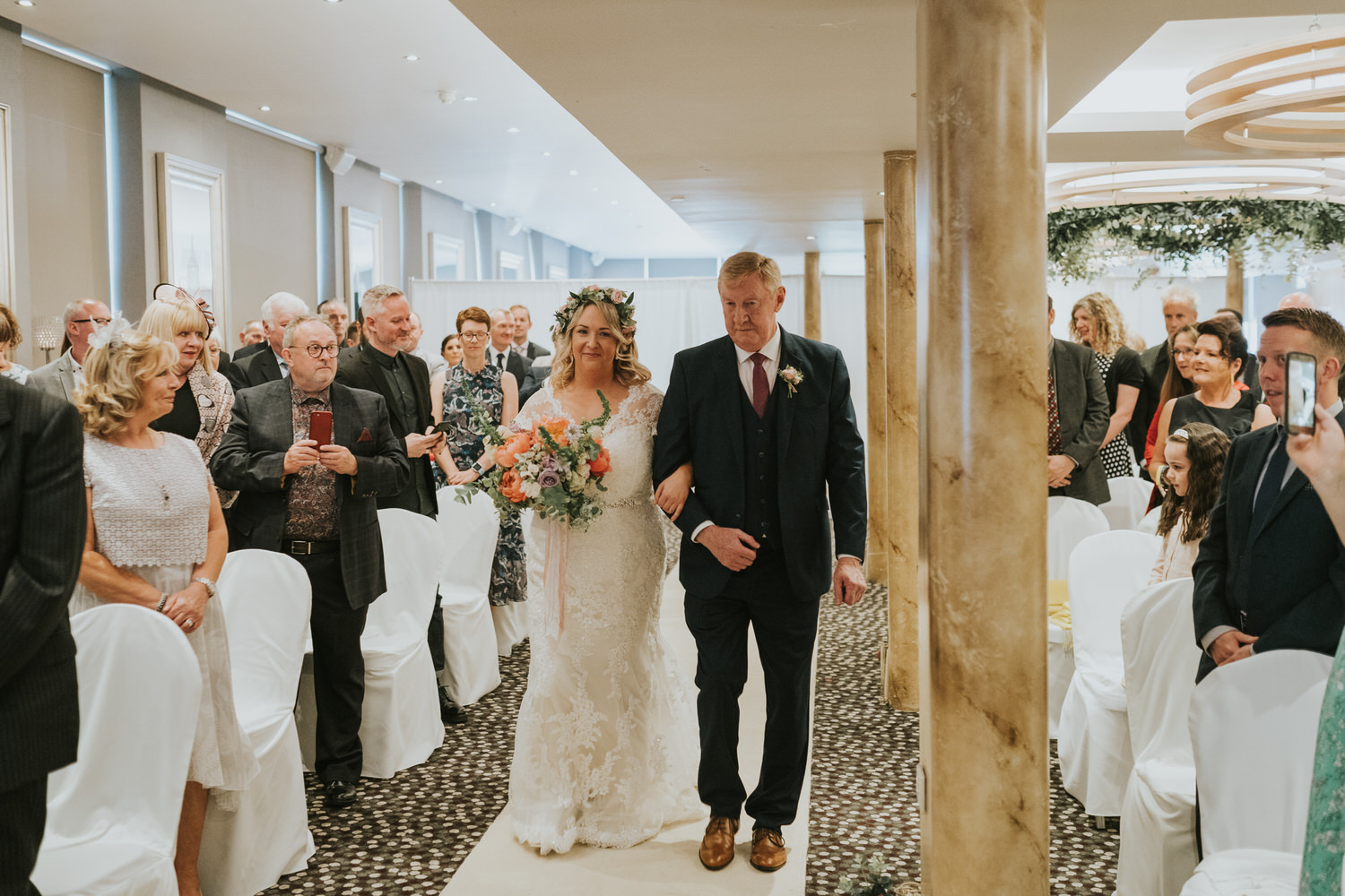 Wedding photos at Ten Square Hotel Belfast 34