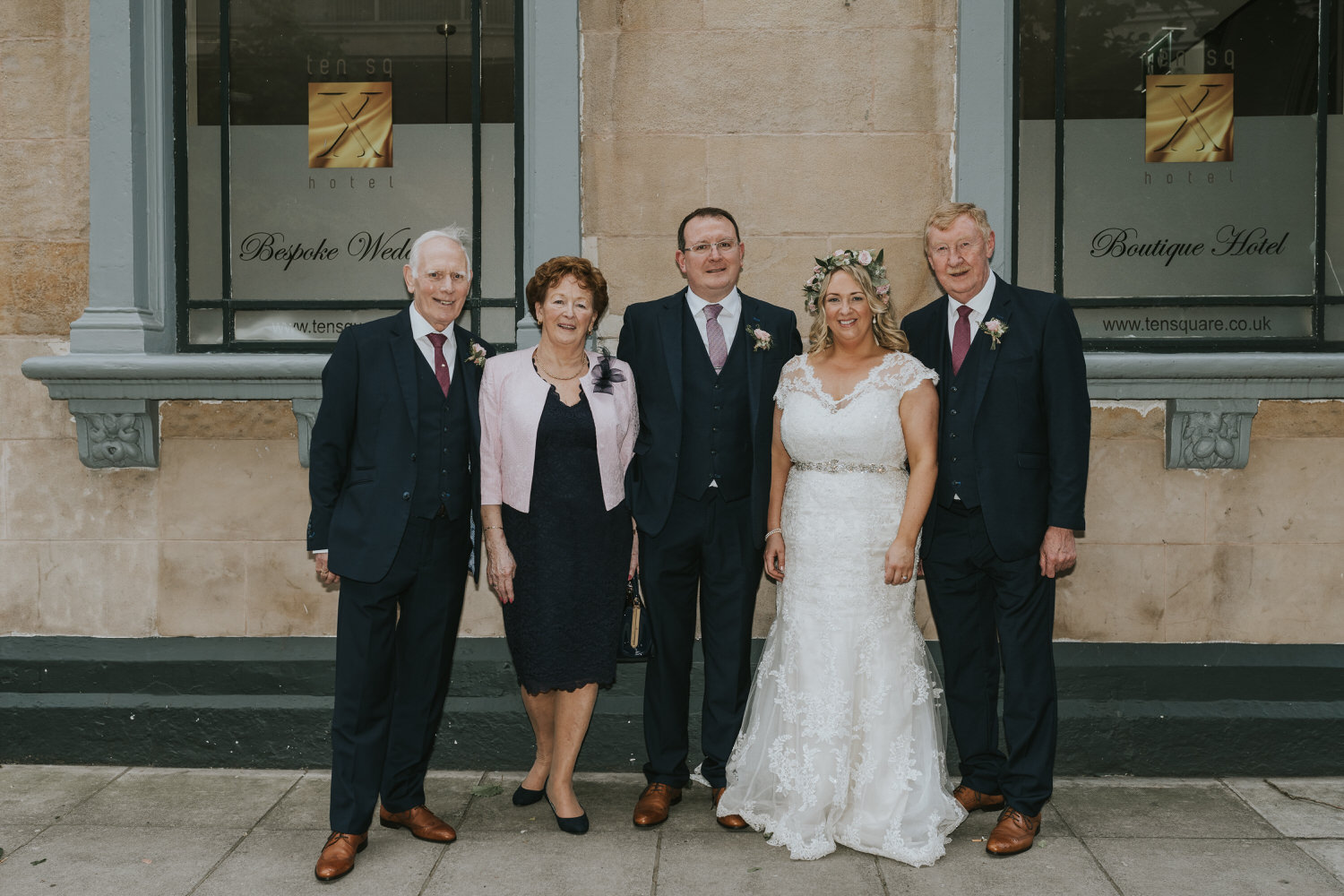 Wedding photos at Ten Square Hotel Belfast 91