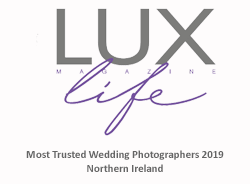 Northern Ireland Most Trusted Wedding Photographer of the year 2019