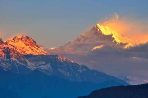 WE ARE INSPIRED BY THE RISING SUN OVER THE HIMALAYAS. THE JOURNEY IS TOUGH BUT SUCCESS IS AWESOME !