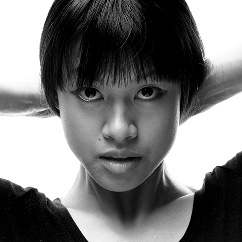 People Portrait, Melbourne, Studio, Black and white
