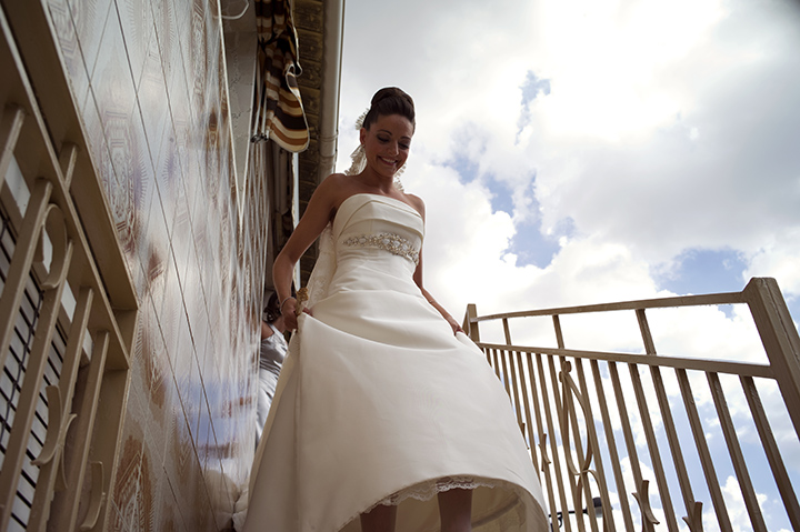 Bride walking, Tony Marin, Leica