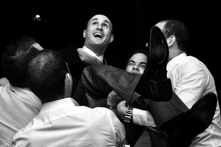 wedding games, Tony Marin