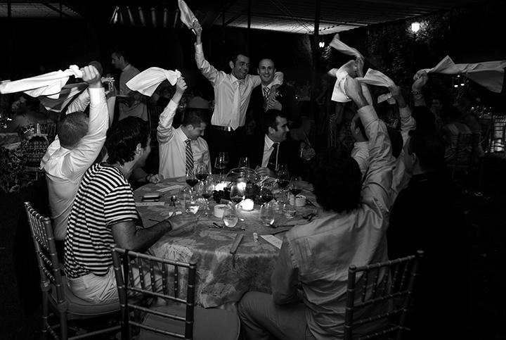 Wedding Dinner, Tony Marin