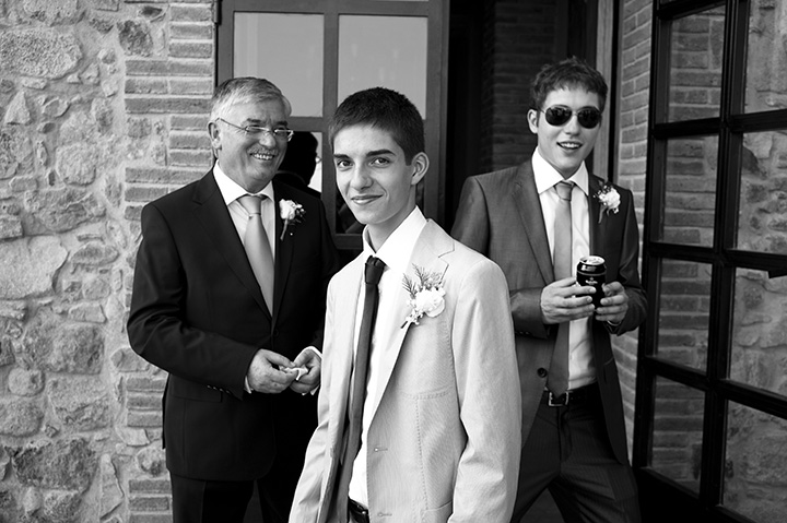 Wedding Photographer Melbourne, groom, monochrome