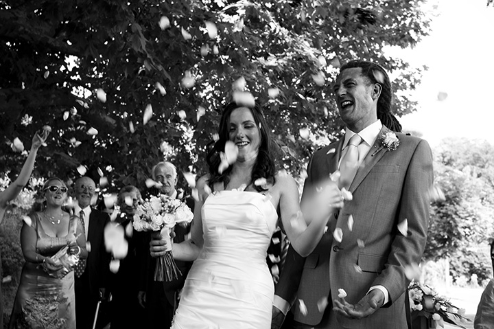 Wedding Photographer Melbourne, black and white, monochrome, happy faces
