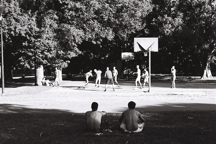 Carlton Park, Melbourne, Basket Ball