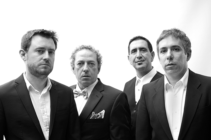 tony marin, portrait photographer, black and white, melbourne, band photo