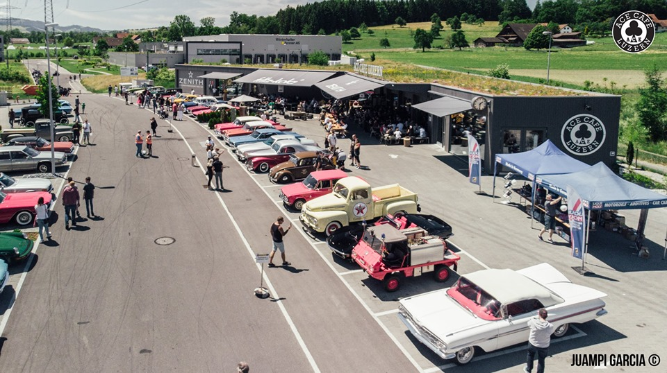 OLDITMER & VINTAGE CARS-MEET @ ACE LUZERN