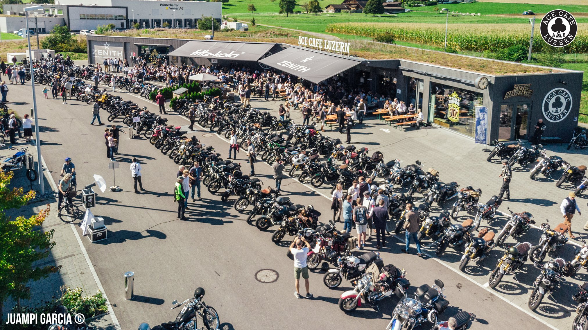 GENTLEMAN'S RIDE @ ACE LUZERN