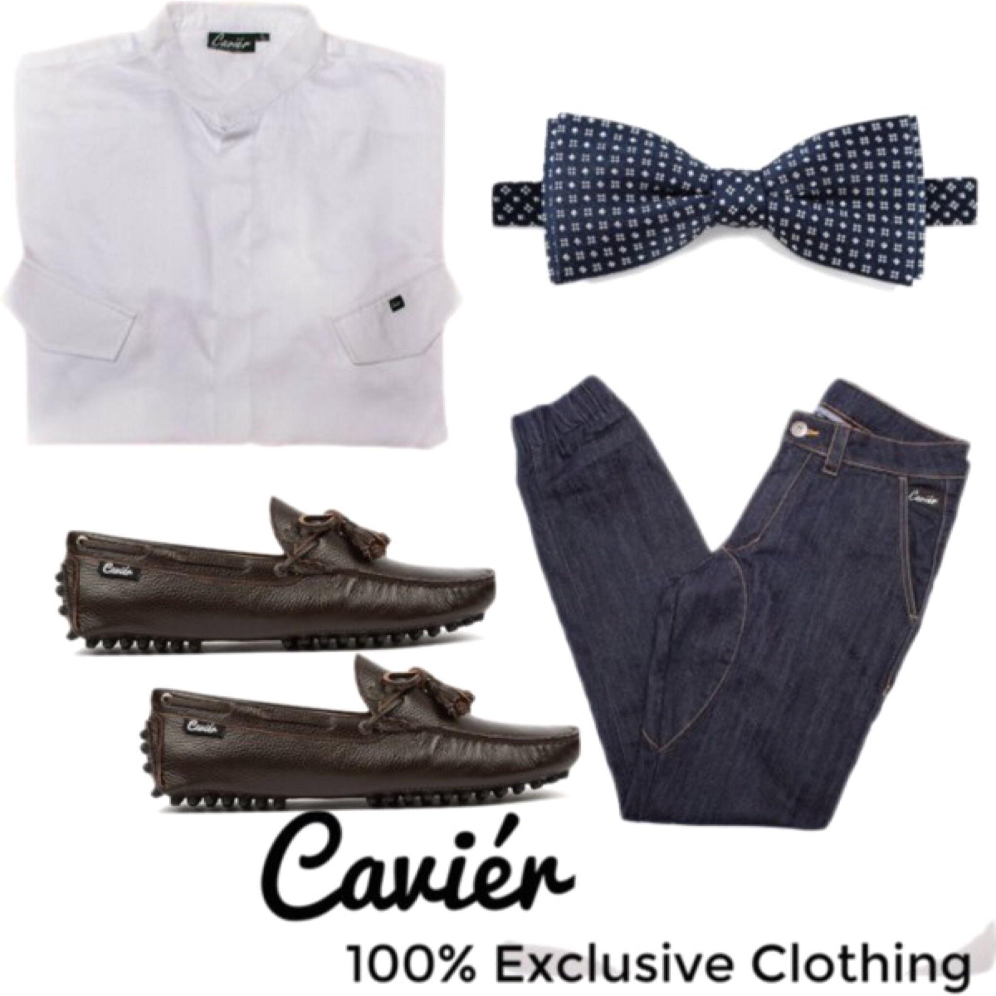 """""""The Cavier Gentleman""""  Shirt: CAVIERCLOTHING.COM; $80  Joggers: CAVIERCLOTHING.COM; $70  Loafers: CAVIERCLOTHING.COM; $120"""