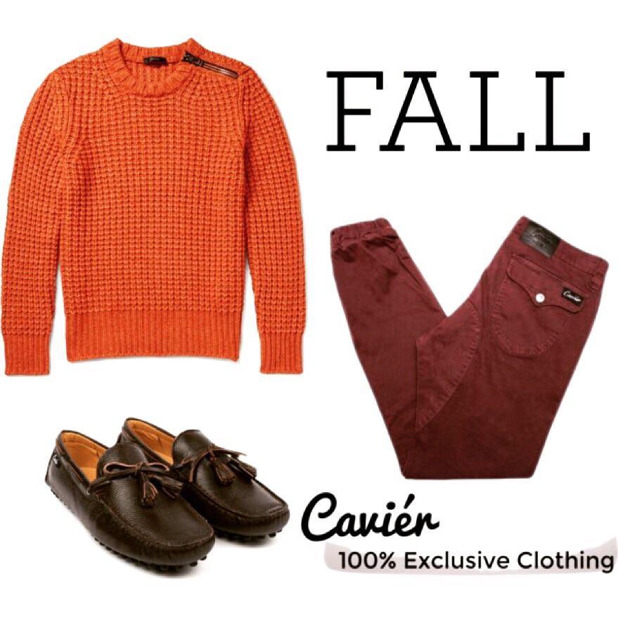 Sweater: $495; mrporter.com  Joggers: $120; cavierclothing.com  Loafers: $180; cavierclothing.com