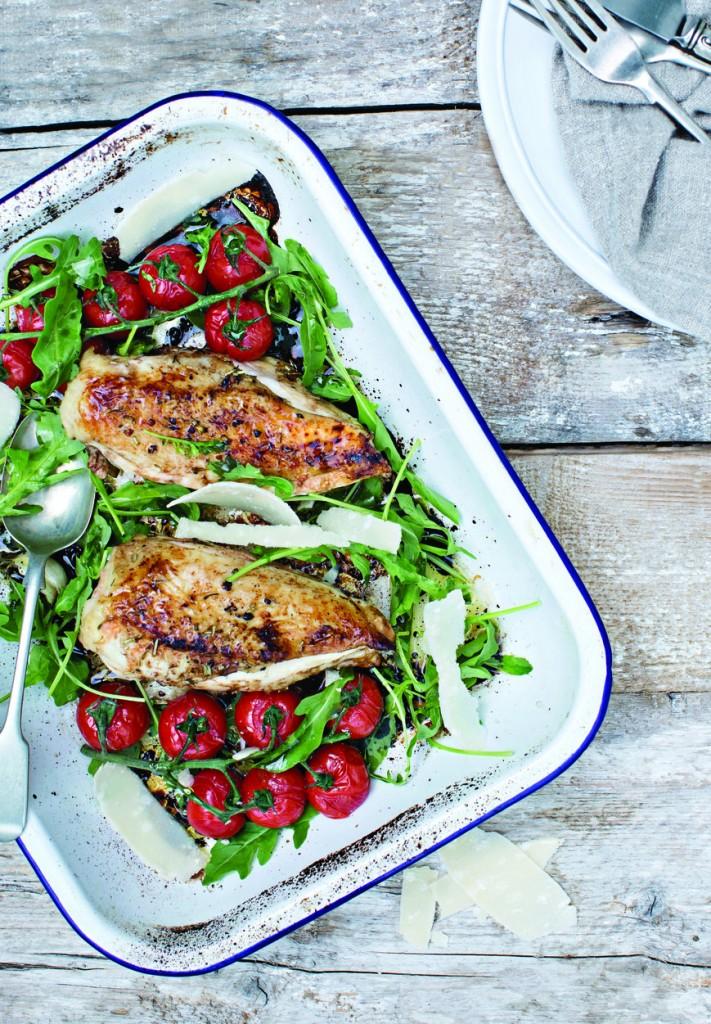 Photo: Balsamic Roast Chicken by Joanne Murphy (http://www.joanne-murphy.com/) from The Ketogenic Kitchen