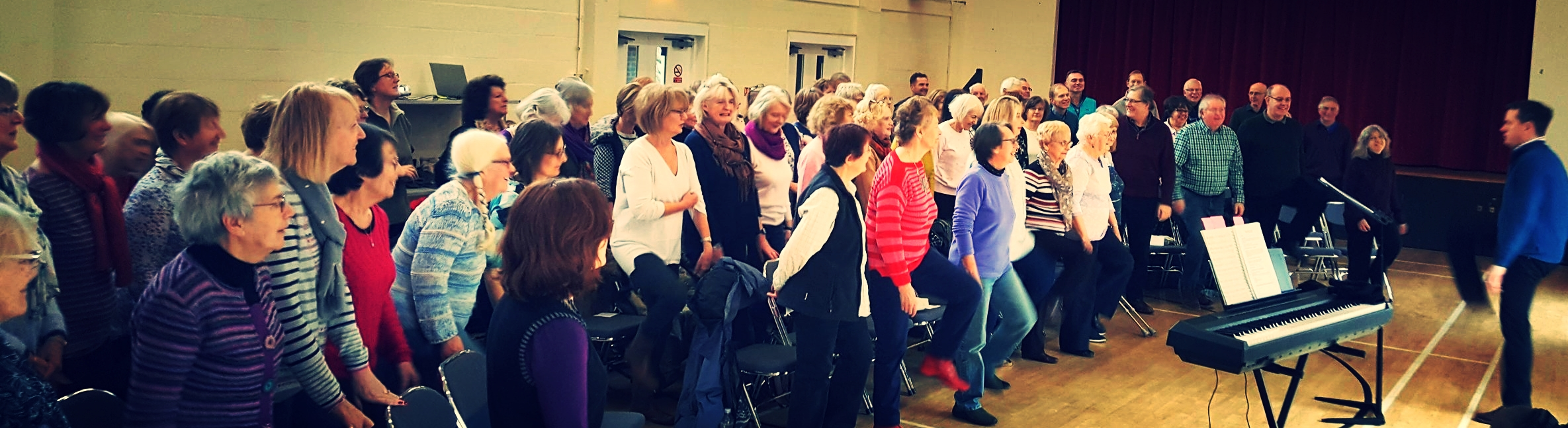 Kimpton Community Choir Singing Workshop - fun!