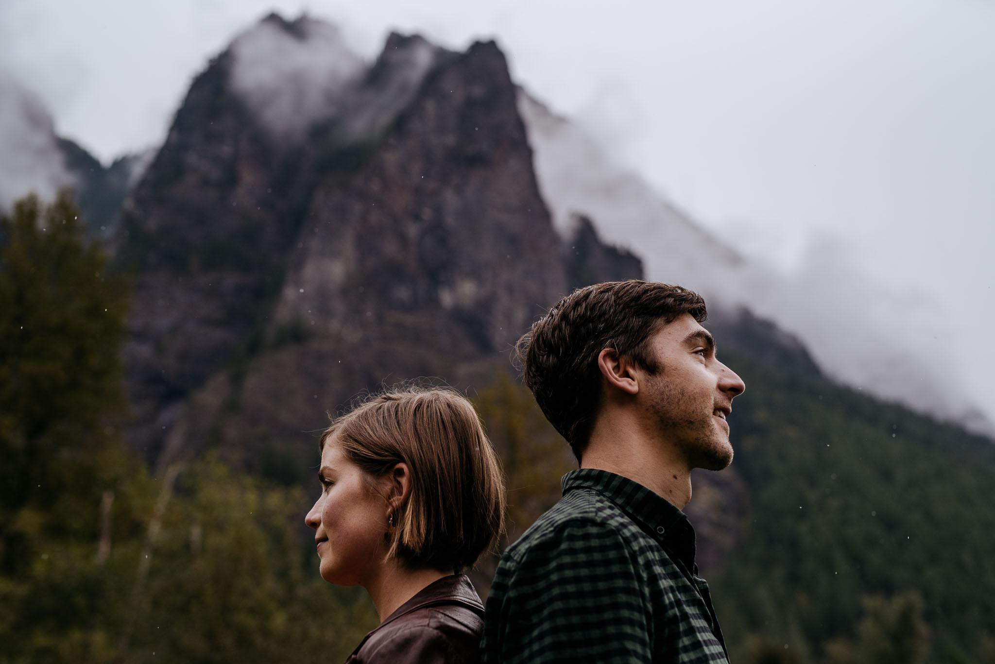 Mt. Si Engagement Photos
