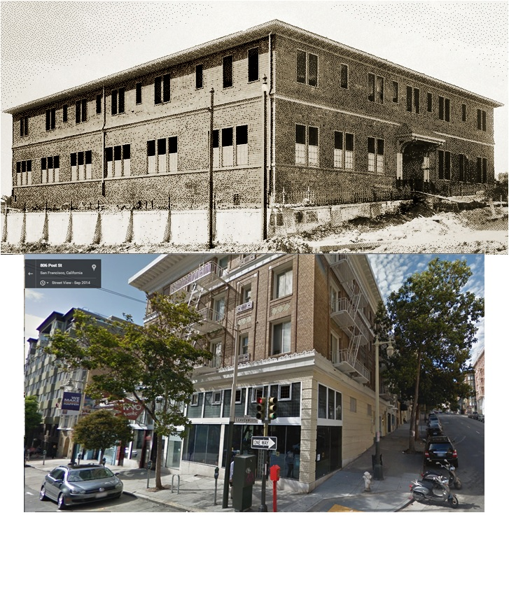 Baby Palace at Post and Leavenworth Then & Now