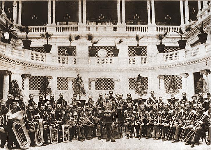 John Philip Sousa with Band 1892
