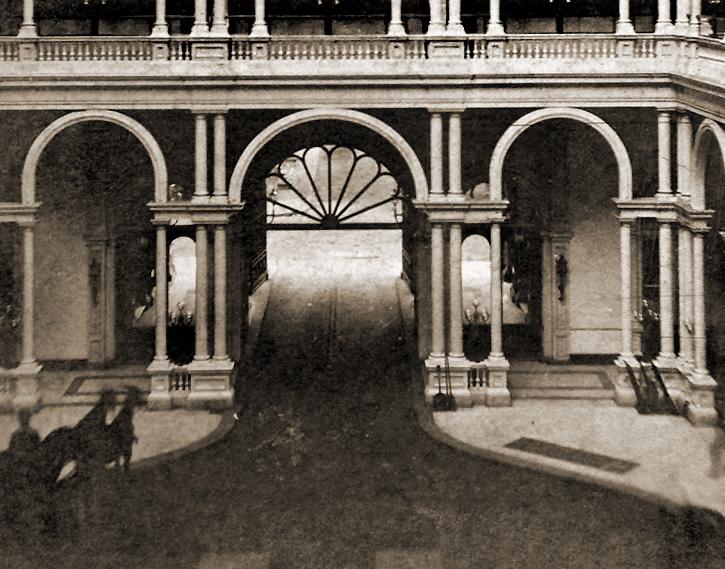 Entrance Court 1880