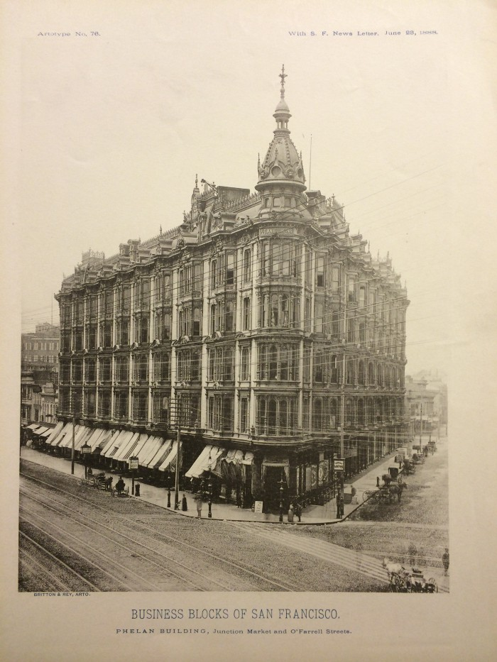 Original Phelan Building 1885