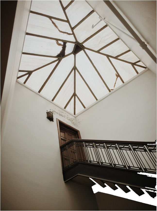Stairs to Phelan Penthouse