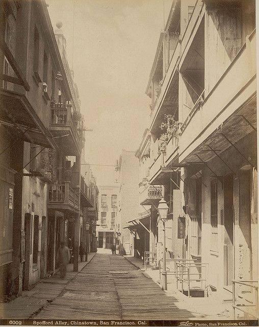 Spoffard alley