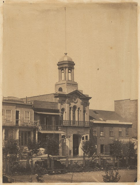 Monumental Engine House on the Plaza 1856