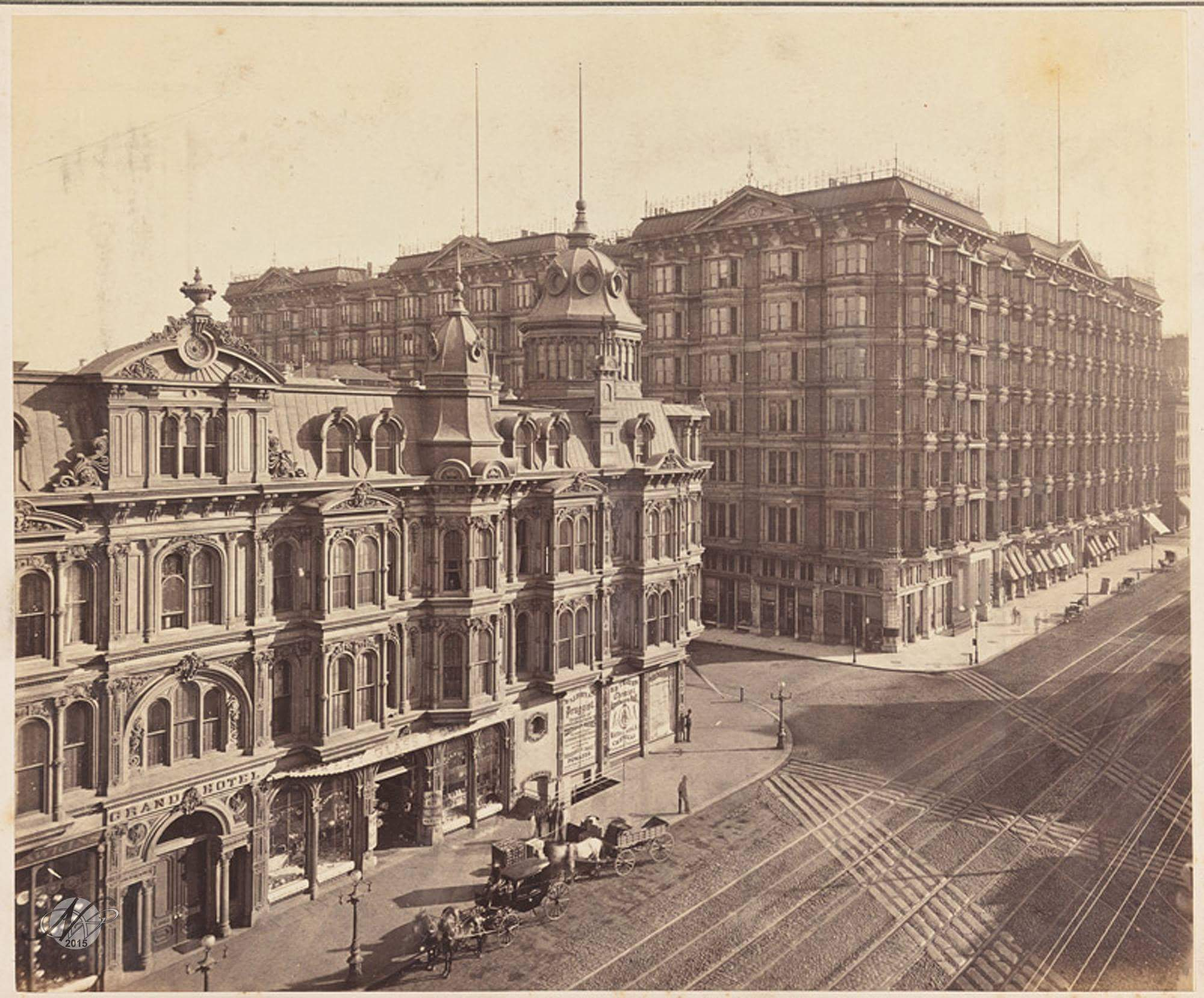 The Grand & The Palace 1880 By Taber