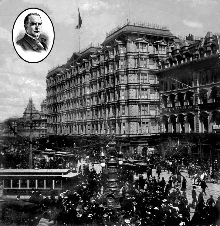 President McKinley's visit in 1901