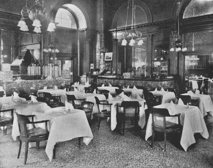 The Pied Piper was a grill room in the 1880s