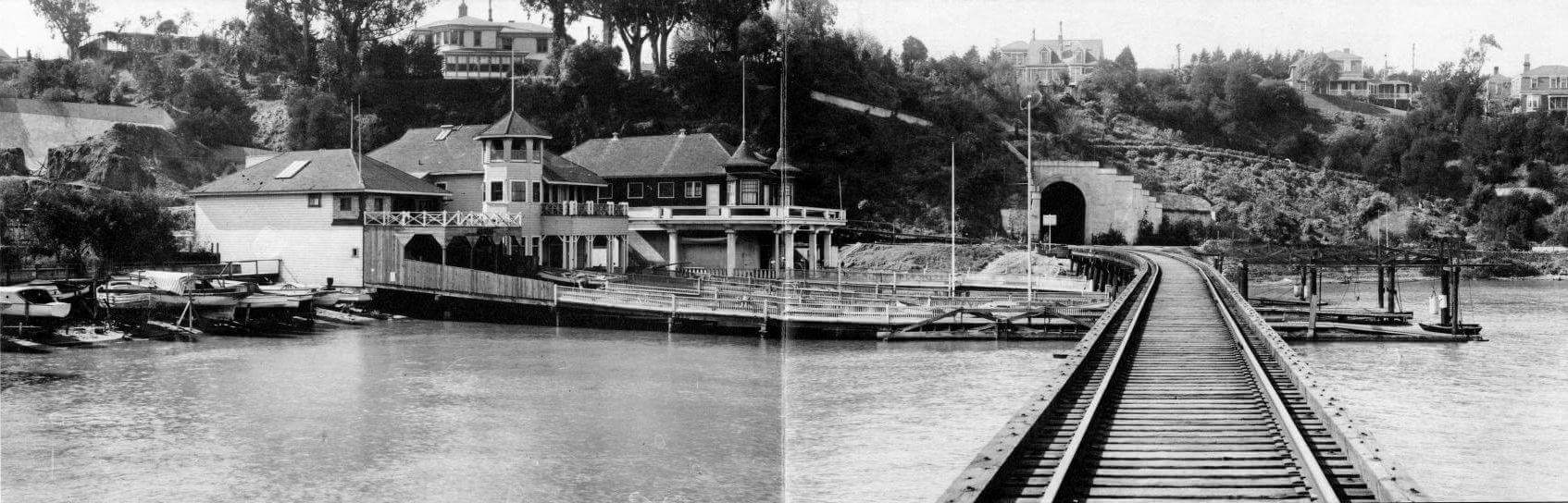 Belt Line RR at Aquatic Park 1918