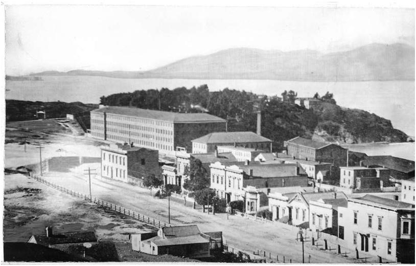 Before Ghiradelli Square 1880