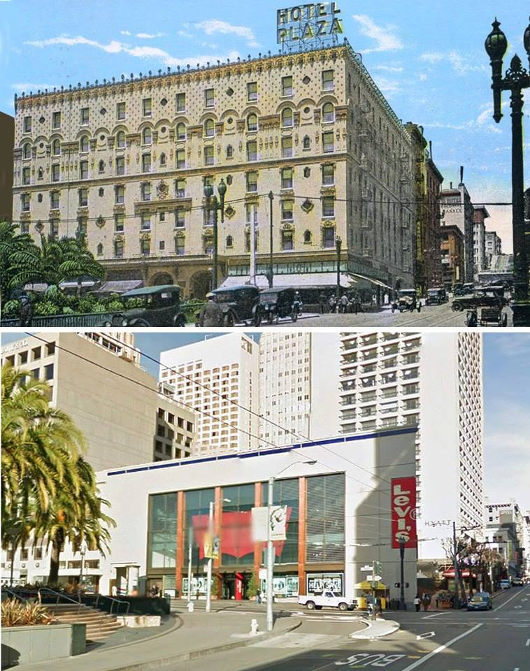 Plaza Hotel 1925 (Now Apple Store)