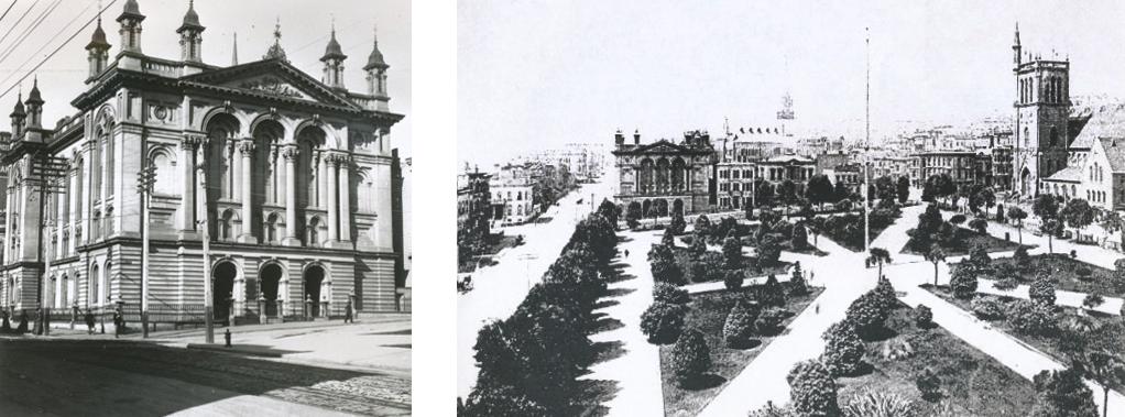Calvary Methodist Church 1890 before St. Francis Hotel