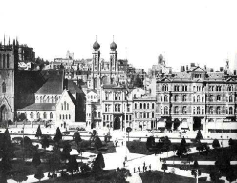 1875 with Temple Emanu-El