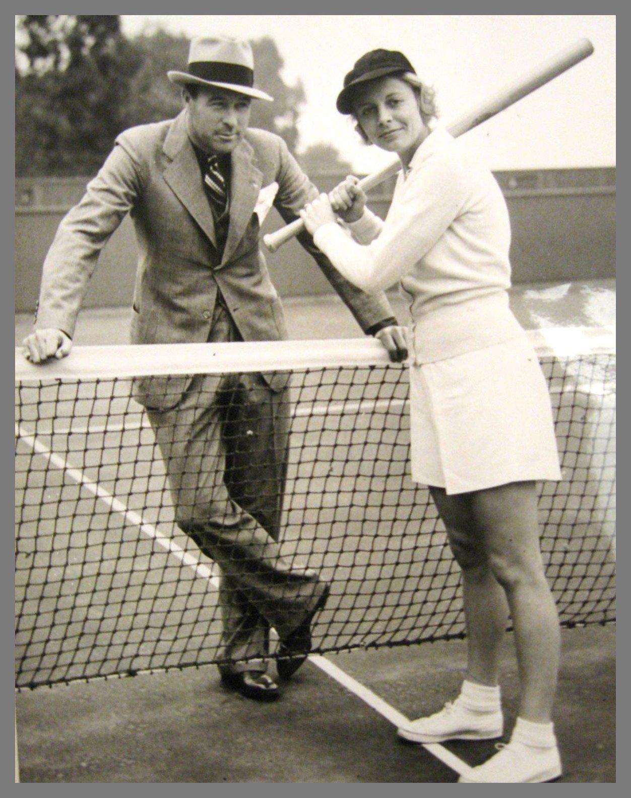Lefty & Alice Marble 1938
