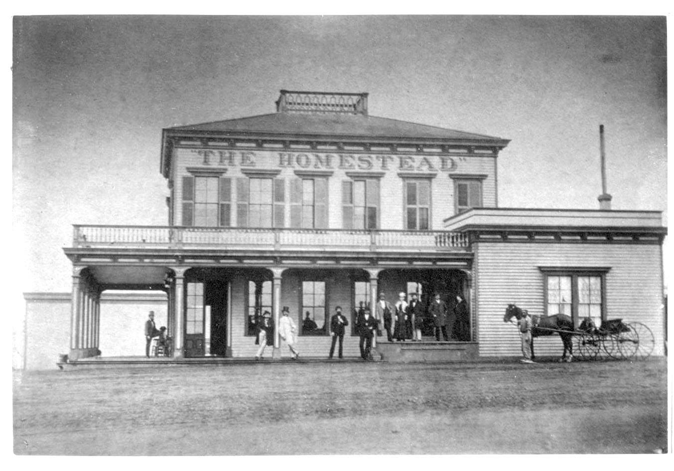 Junius Foster's Homestead at 24th & Geary (Pt Lobos Rd) 1880.jpg