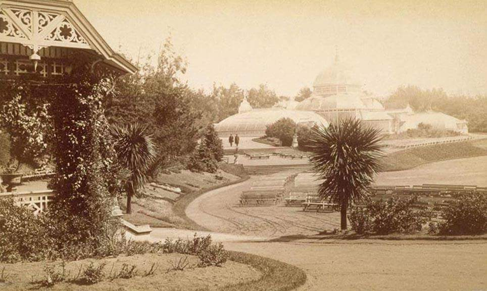 1st Band Stand 1883