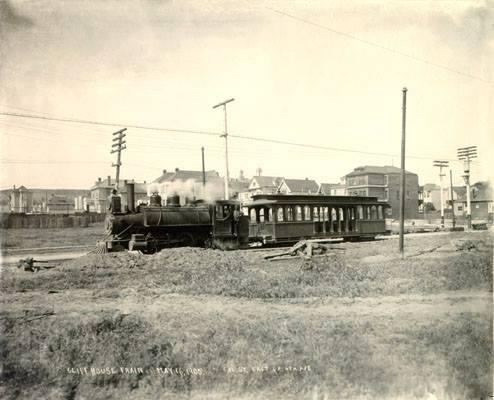 Cliff House train 1905